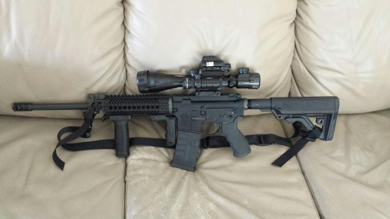 Rock River AR with ATRC 4-12x50 in a 4 way combo. Owned by Rob P.